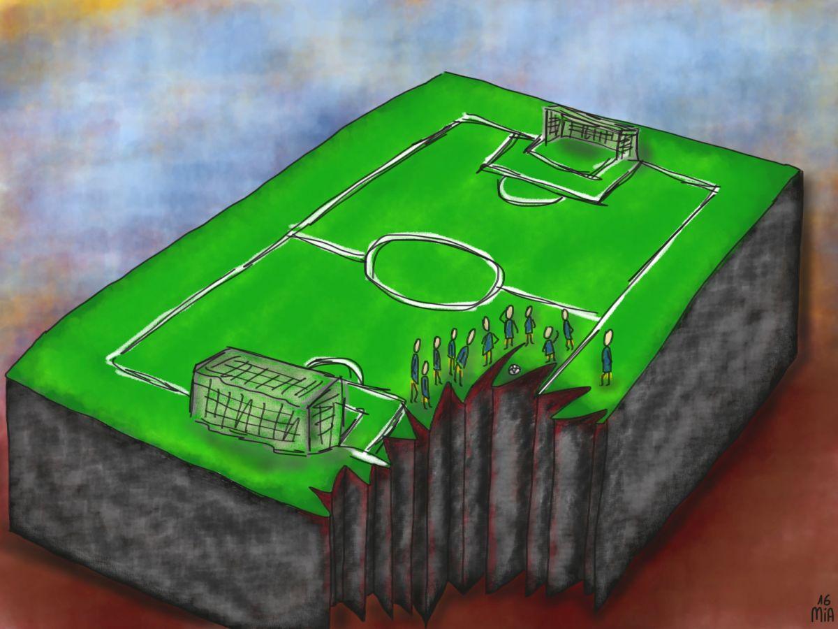 fußballfeld 1200 - Bucket-Liste vorm Cut off
