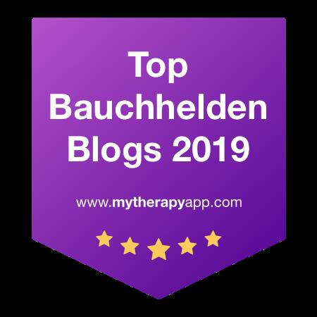 Top Bauchhelden Blogger 2019 - LieberHerrCrohn.at wieder bei den Top-Bauchhelden Blogs