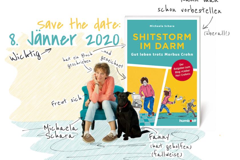 "SaveTheDate  small 840x560 - Mein Buch ""Shitstorm im Darm"" - gut leben trotz Morbus Crohn"