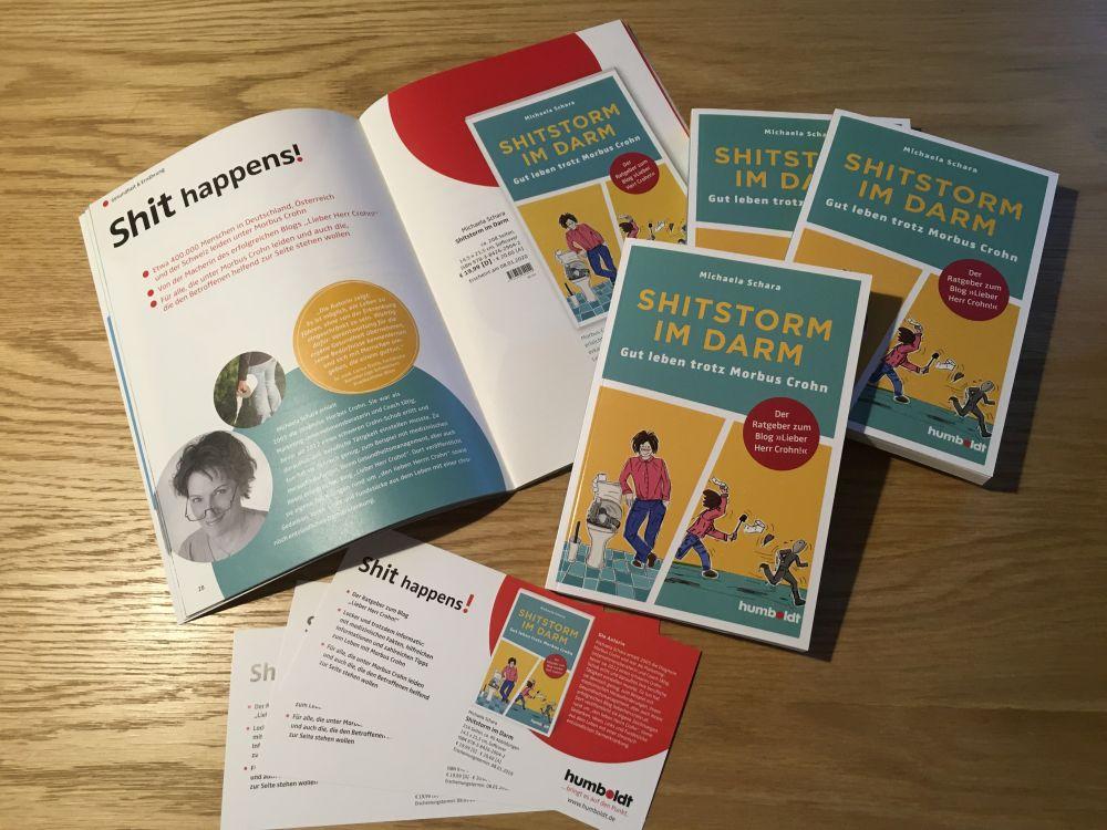 """Shitstorm im Darm Leben mit Morbus Crohn 002 - Mein Buch """"Shitstorm im Darm"""": die Erscheinung!"""