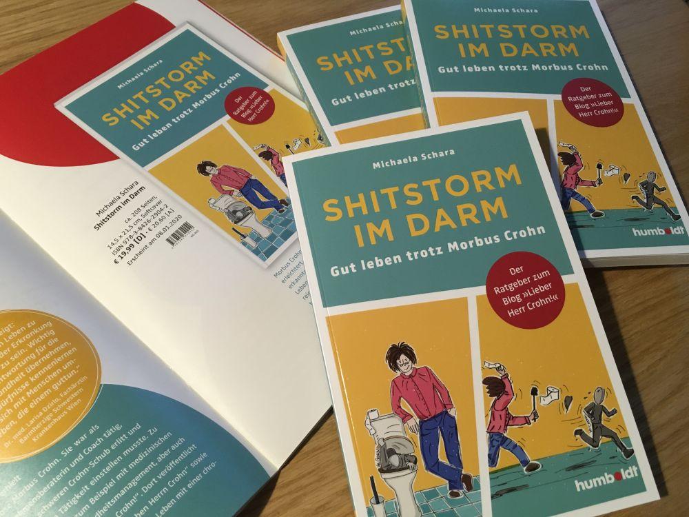 Shitstorm im Darm Leben mit Morbus Crohn 003 - Feedback & erste Rezensionen zu meinem Buch