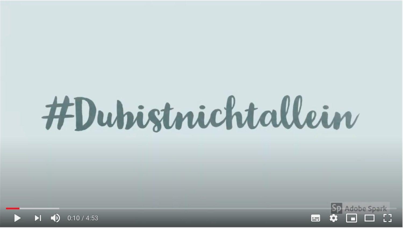 Video dubistnichtallein Start1 - Welt-CED-Tag: 5 Minuten, 10 Geschenke und 1 Überraschung