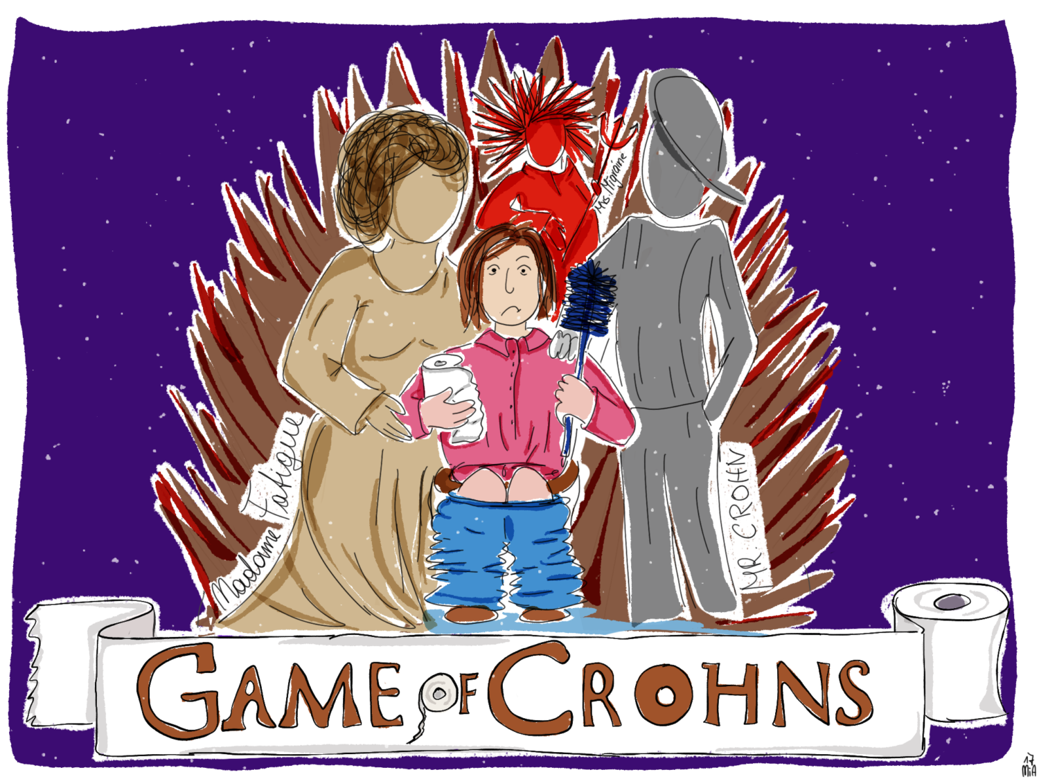 "GameOfCrohns final - ""Game of Crohns"" - das Spiel zum Downloaden"