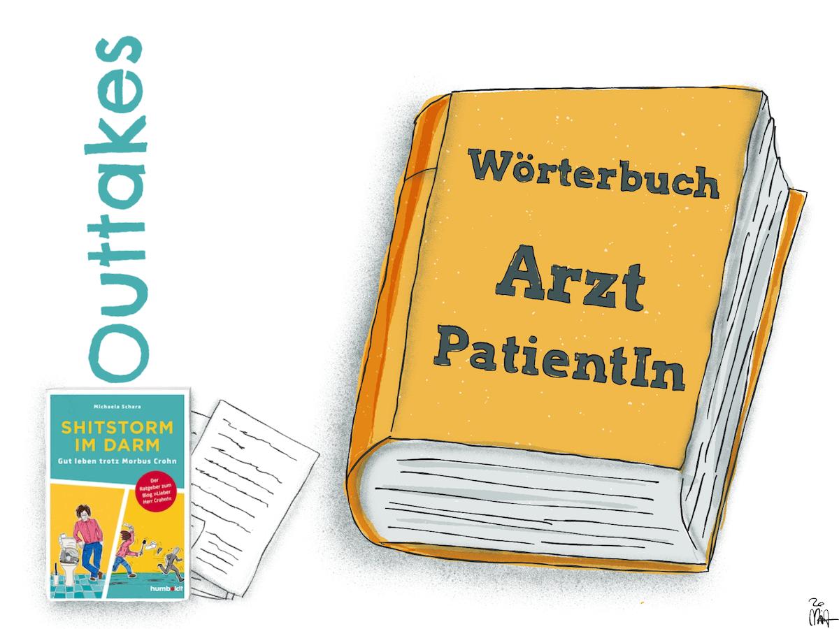 Outtake: Wörterbuch Arzt : PatientIn