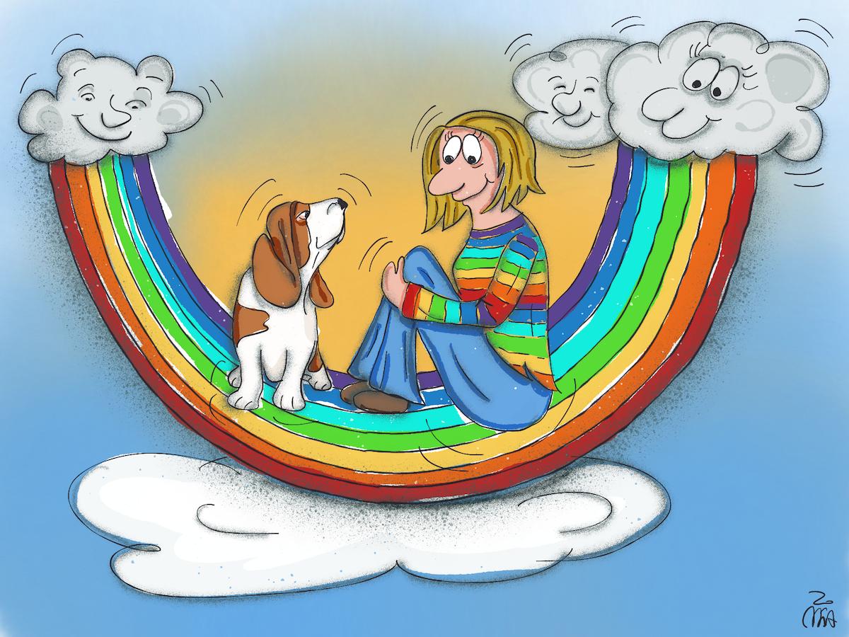 RegenbogenBine sm - Bine ist im Regenbogenland