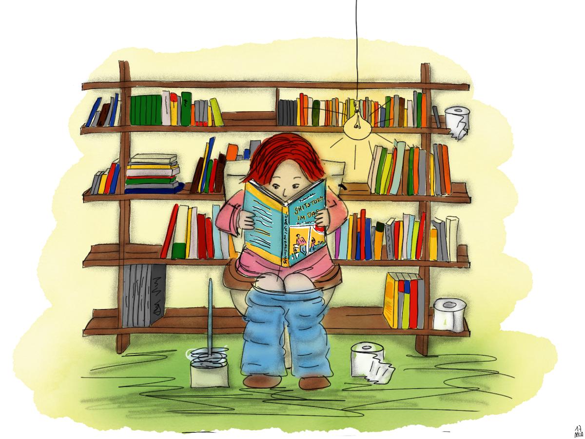 Buchlesen sm - Outtake: Über das Klo und Klopapier, den Welttoilettentag und eine tolle Buch-Verlosung