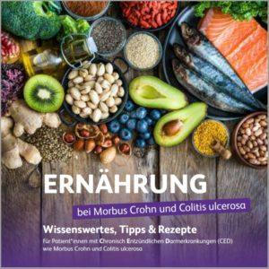 Ernaehrungsbooklet PfizerCEDKompass 300x300 - CED-Ernährungsbroschüre, Fistel-Info und Leitfaden Arztgespräch